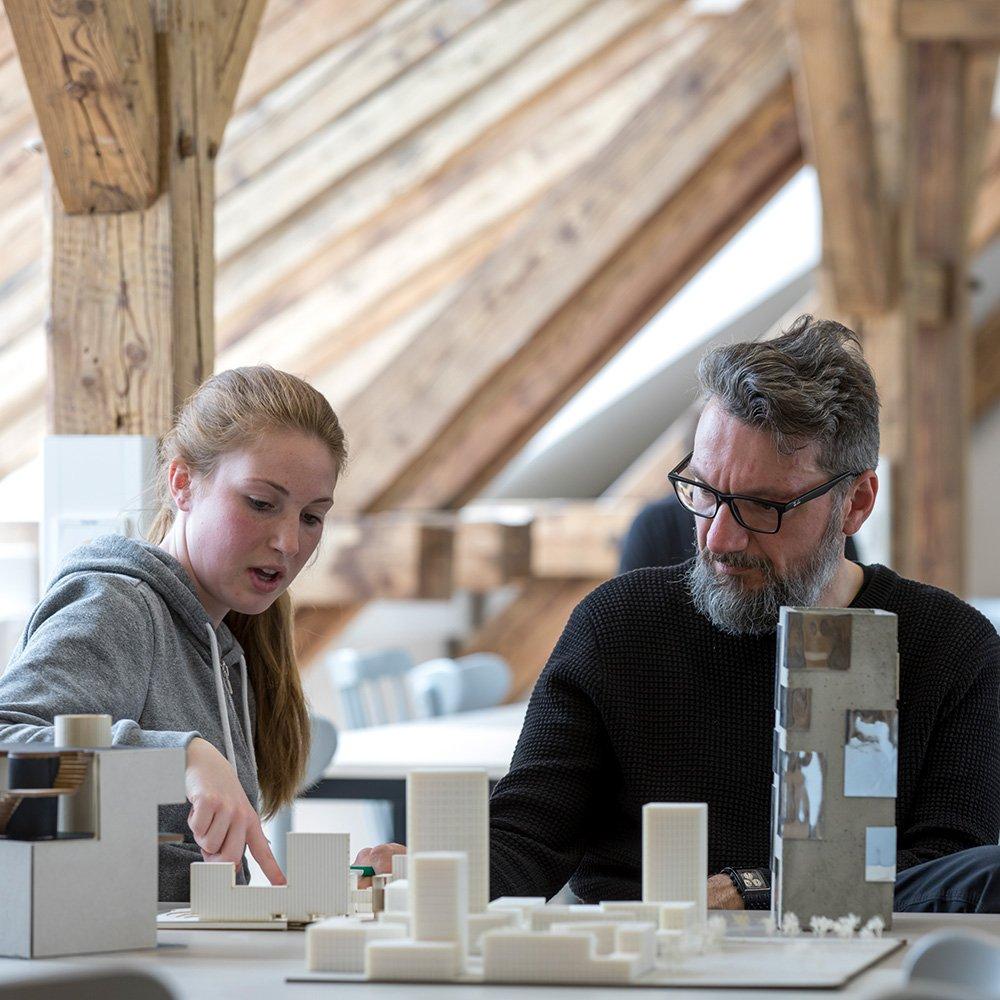 Aircampus Graz Architektur Modelle