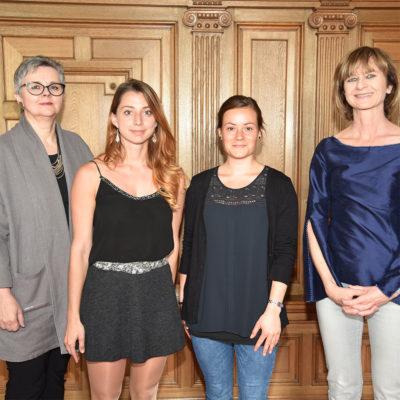 Aircampus Graz Frauenstipendien 2017 Gruppenfoto