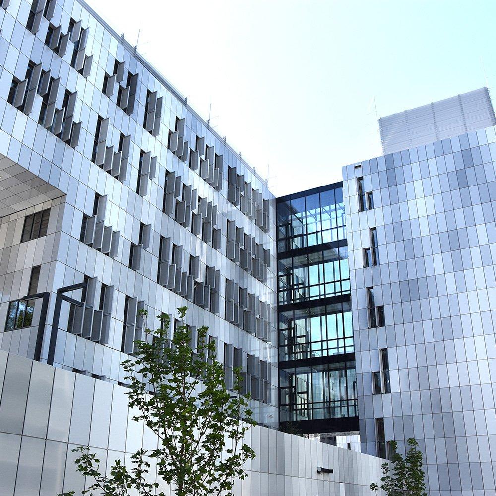 Ein neues zuhause aircampus for Uni architektur