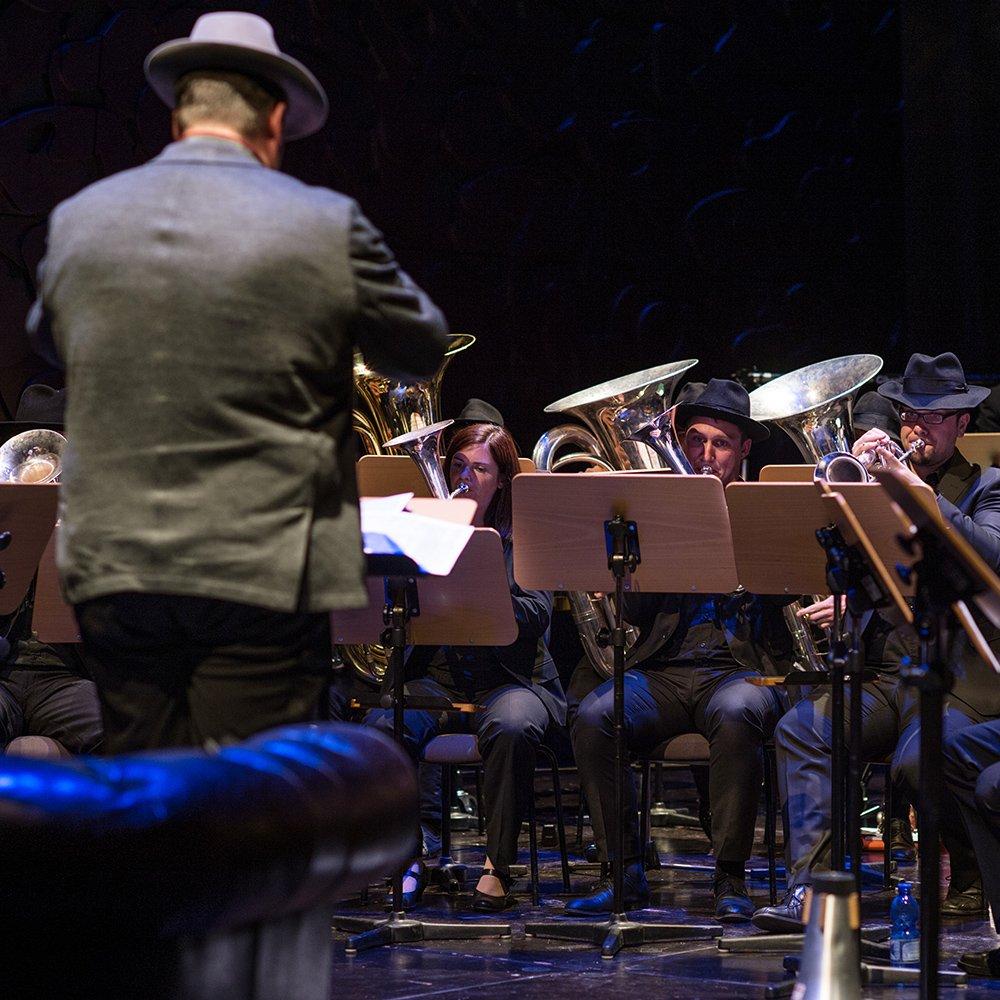 Aircampus Graz Jazzkonzert Blasinstrumente