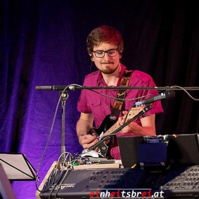 Aircampus Graz Konzert Musiker Daniel Rudrich