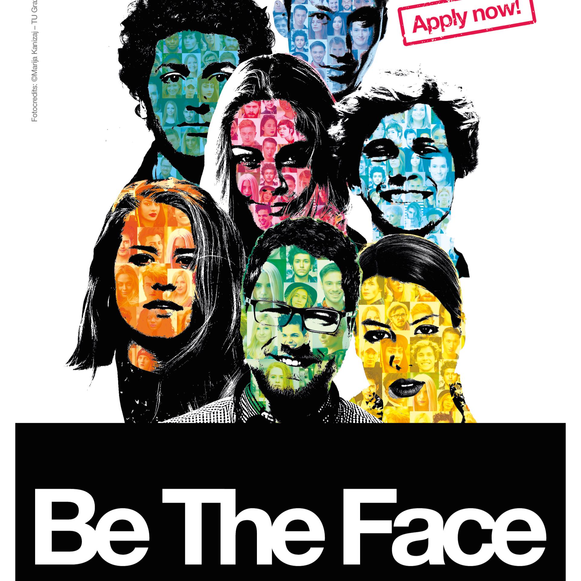 Sei das Gesicht der TU Graz