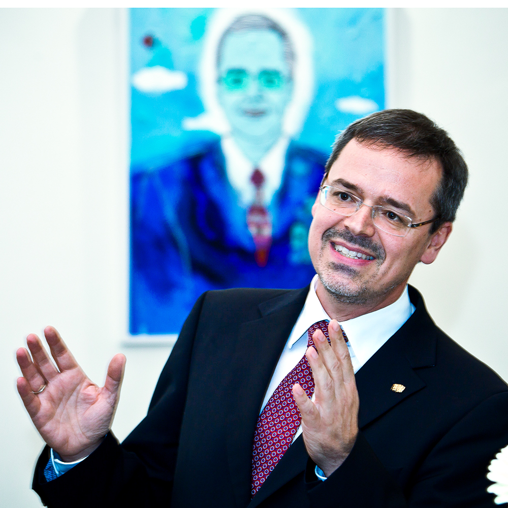 KUG-Rektor Schulz